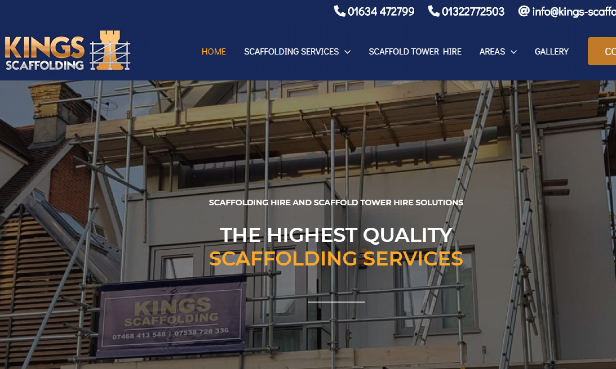 Scaffolding Company Kent